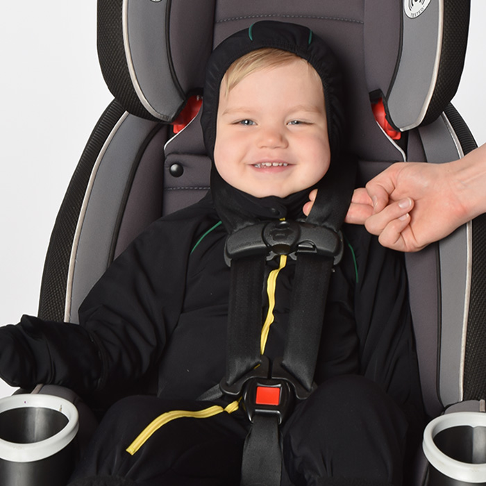 Shiverless Thin Car Seat Safe Winter Wear Coat Toddler Baby Child